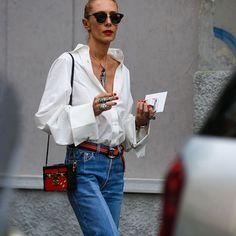 #milanfashionweek @elina_halimi photo by @thestreetpie #style#styling#stylish#street#streetstyle#fashion#fashionable#cool#instamood#instafashion#denim#womensstyle#moda#shoes#loveit#streetlook#sexy#instyle#tagsforlikes#luks#followme#luxury#blogger#fashionweek#luxurystyle#luxuryfashion#elinahalimi#mfw#ss17