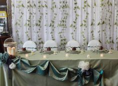 Fern and ivory table design