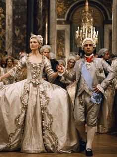King Louis XVI (Jason Schwartzman) and Queen Marie Antoinette (Kirsten Dunst) in Sofia Coppola's Marie Antoinette (2006)