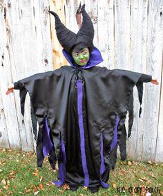 maleficent costume kid -