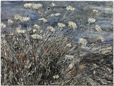 """Anselm Kiefer, """"Morgenthau Plan"""" (2012), acrylic, emulsion, oil, and shellac on photograph mounted on canva"""