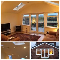 Another happy client, they can now sit in comfort and take in that great view. #architecture