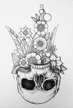 Tattoo Design Drawings, Art Drawings Sketches, Tattoo Sketches, Tattoo Designs, Future Tattoos, Love Tattoos, Skull Tattoos, Body Art Tattoos, Simplistic Tattoos