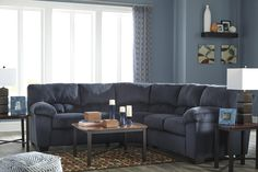 Distinguishing one sofa design from another can be a tricky task. How do you tell a Lawson style sofa from a Chesterfield sofa? Canapé Design, Sofa Design, Interior Design, Corner Sectional, Sectional Sofa, Chesterfield Sofa, Ottoman, Blue Couches, Lounge