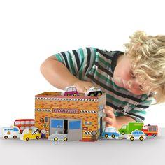 Fiesta Toys Garage Vehicles Set