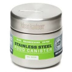 Klean Kanteen® Stainless Steel Food Canisters are great for storing food at home or transporting for school, work, and play. Muesli, Food Canisters, Food Containers, Food Grade, Stainless Steel, Camping Gear, Outdoor Tools, Men's Grooming, Lunch Time