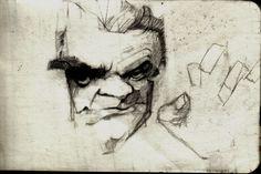 James Cagney. Pencil Sketch.