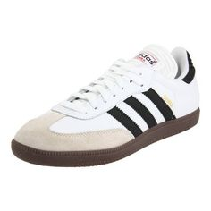 Adidas Shoes Men Leather adidas Men's Samba Classic Soccer Shoe                                 leather                    Rubber sole                    adiPRENE insert for comfort and shock absorption