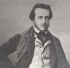 ALFRED DE MUSSET (Alfred Louis Charles de Musset-Pathay, 1810-1857) French dramatist, novelist, and poet.