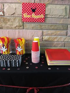 Hostess with the Mostess® - Nyomi's Minnie Mouse 3rd Birthday Party