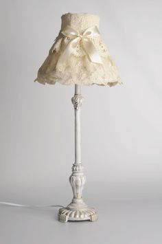 Have a lamp like this! Looks like it's time to give it a new look