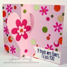 Sizzix: Die Cutting Inspiration and Tips: If Friends Were Flowers...