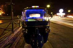 The 'disco rickshaw' of Paris!