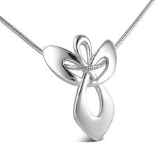 Sterling Silver Guardian Angel Gift Pendant on Snake Chain Necklace: $39.99 only