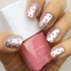 Polka Dot Nail Art From Instagram | Beauty High