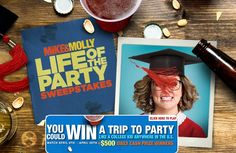 """Try your chance to win free trip to """"Life of the Party"""" plus $500 daily cash prize. #Sweepstakes #Wincash #Wintrip"""