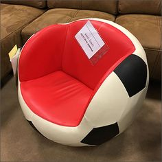 FixturesCloseUp covers branches and seating as store amenity. Which is why I suggest to you that seating like this seen for sale, might make interesting comfort amenities in retail itself. Soccer Store, Sport Seats, Store Fixtures, Kids Sports, Sitting Area, Tub Chair, Benches, Accent Chairs, Retail