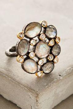 Moonflower ring