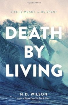 Death by Living: Life Is Meant to Be Spent by N. D. Wilson,http://www.amazon.com/dp/0849920094/ref=cm_sw_r_pi_dp_7Oqctb1F7QMKMYE3