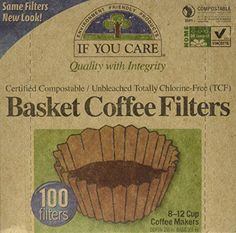 If You Care Coffee Filter Baskets  1x100 CT  Fits 812 Cup Drip Coffee Makers ** You can find out more details at the link of the image.Note:It is affiliate link to Amazon.