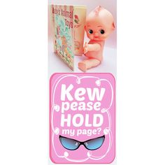 Etsy の kewpie doll boopsie book mark by boopsiedaisy