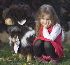 Little one and her Jacob sheep