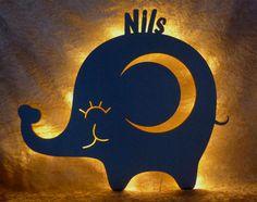 Wandlampe babyzimmer ~ Wandlampe schlummerlicht mond von pinky kiky kinderzimmer design