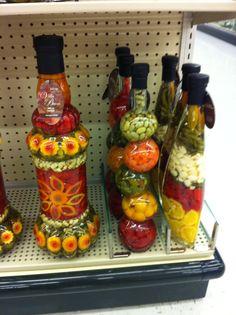 Decorative Vegetable Bottles House Decoration A157 3 4