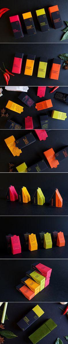 MÀM Thai Curry Packaging by Thitipol Chaimattayompol | Fivestar Branding Agency – Design and Branding Agency & Curated Inspiration Gallery #curry #currypackaging #packaging #packagedesign #packaginginspiration #design #behance #pinterest #dribbble #fivestarbranding