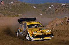 En 1987 el Peugeot 205 T16 conquistaba el Dakar junto a Vatanen y Kankkunen.