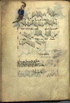 'Chansons d'Amour' - also known as 'The Copenhagen Chansonnier' [Thott 291 - was produced in the late century. Renaissance Music, Medieval Music, Medieval Books, Music Manuscript, Medieval Manuscript, Illuminated Manuscript, Book Of Hours, Book Projects, History Books