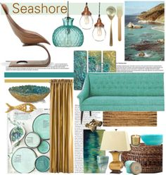 """Seashore"" by bamaannie on Polyvore"