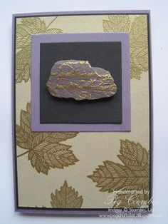 Stampin' Up! Magnificent Maple Rocks