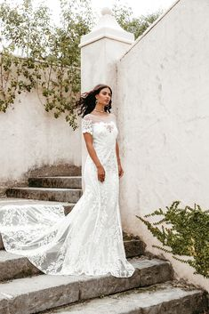 Untamed Heart | The Brand New Wedding Dress Collection from Lovers Society Lace Wedding, New Wedding Dresses, Gowns, Bridal, Dress Collection, Curves, Bell Sleeves, Backless, Lovers