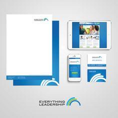 Geometric corporate brand design by Elastic Studio Corporate Id, Brand Design, International Brands, Leadership, Product Launch, Packing, Studio, Logos, Creative
