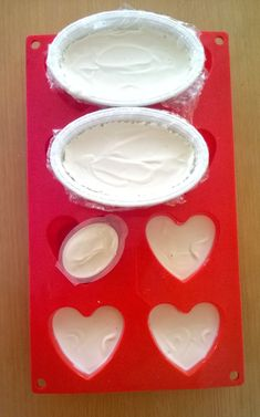 Oliiviöljysaippuat kypsymässä Barware, Coasters, Diy, Bricolage, Coaster, Do It Yourself, Homemade, Diys, Crafting