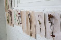 Decorating With Homemade Botanical Wallpaper Handmade Diary, Handmade Home, Homemade Wallpaper, How To Make Decorations, Free People Blog, Botanical Wallpaper, Vintage Botanical Prints, Nature Collection, Paper Crafts