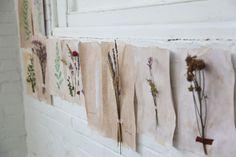 Homemade Botanical Wallpaper - Free People Blog