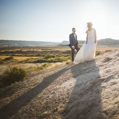 Day After Session in Spain! #wedding #desert #photography Wedding
