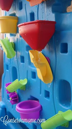 Water Fun with Step 2 - Finding Dory Water Table & Waterfall Discovery Wall - ConservaMom