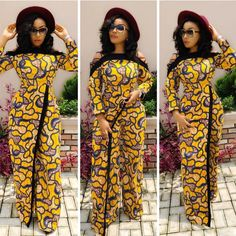 Creative Ankara Jumpsuit Designs for Beautiful and Classy Ladies.Creative Ankara Jumpsuit Designs for Beautiful and Classy Ladies African Fashion Ankara, Latest African Fashion Dresses, African Print Fashion, African Prints, African Attire, African Wear, African Dress, African Style, African Clothes
