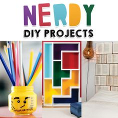 29 geek diys to make right now geek tastic pinterest craft nerdy diy projects solutioingenieria Gallery