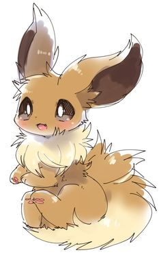 Evoli's cutest image ever ^^ Evoli's cutest image ever ^^ - Poke Ball Pokemon Life, O Pokemon, Pokemon Fan Art, Pokemon Tattoo, Pokemon Funny, Pokemon Fusion, Pokemon Cards, Ninetales Pokemon, Pokemon Eevee Evolutions