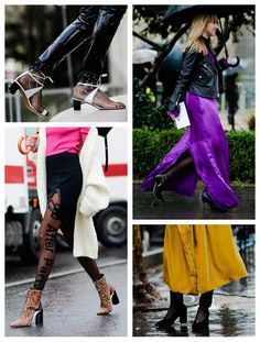 Paris Street Style: How To Style Your Tights Like A Parisian - Fashionmylegs : The tights and hosiery blog