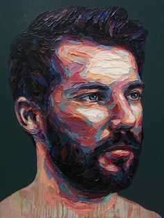 Stunning paintings by Josh Miels Shared by Veri Apriyatno Artist . Abstract Portrait Painting, Portrait Art, Portraits, A Level Art Sketchbook, Arte Sketchbook, Ap Art, Traditional Art, Art Inspo, Art Drawings