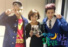 """[PIC] 140407 SBS 'A Night Like Tonight"""" Official Update - #Toheart Woohyun and Key #4 pic.twitter.com/biKAdTltVI"""