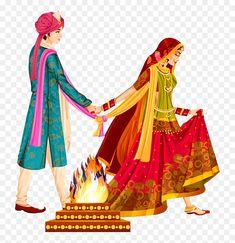 Wedding Symbols, Hindu Wedding Cards, Indian Wedding Invitation Cards, Wedding Invitation Background, Wedding Invitation Card Design, Funny Wedding Invitations, Wedding Card Design Indian, Indian Wedding Couple, Indian Bride And Groom