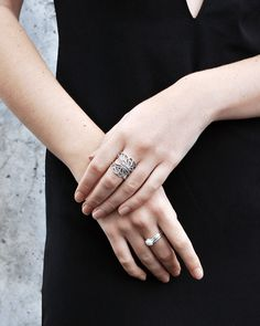 Pandora Ring Classic Beauty Sterling Silver
