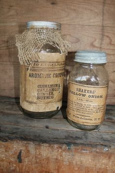 old country jars