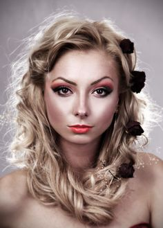 Model: Oana Mihail  Make-up: Oana Mihail  Hair Styling: Ramona Tarcuta